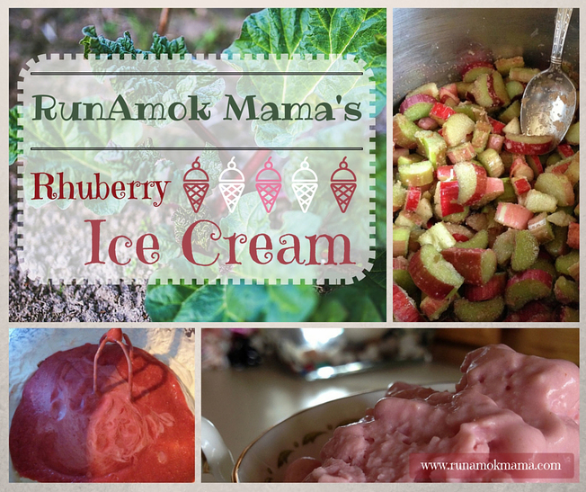 RunAmok Mama's Rhuberry Ice Cream